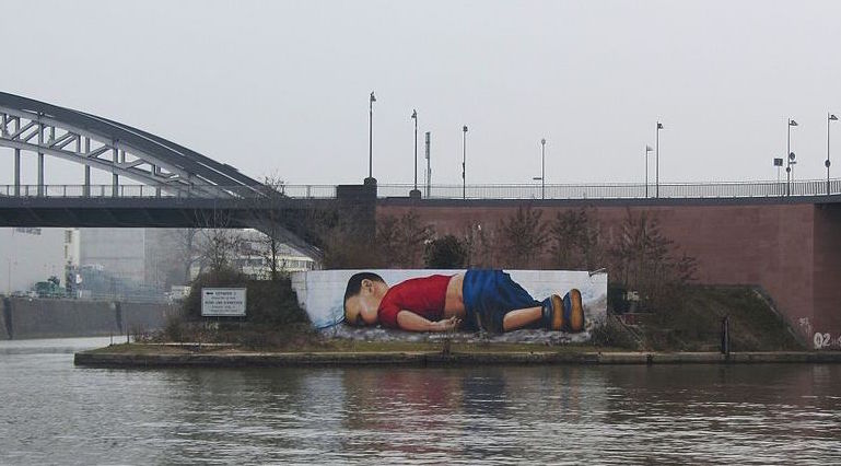 Syrian refugee child drowns